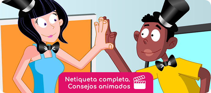 Video Netíqueta video consejo completo